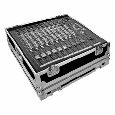 MARATHON ® FLIGHT ROAD CASE ™ MA-ZED1412FX CASE FOR ALLEN & HEATH ZED-14 OR ZED-12FX PA MIXING CONSOLE OR ANY EQUAL SIZE FORMAT MIXING CONSOLE