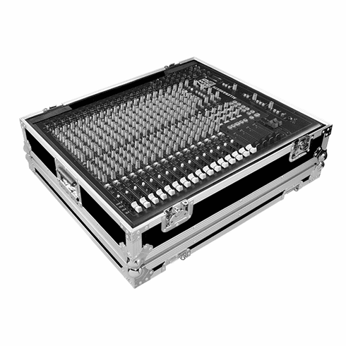 MARATHON ® FLIGHT ROAD CASE ™ MA-ZED16FX18 CASE FOR ALLEN & HEATH ZED-18 OR ZED-16FX PA MIXING CONSOLE OR ANY EQUAL SIZE FORMAT MIXING CONSOLE