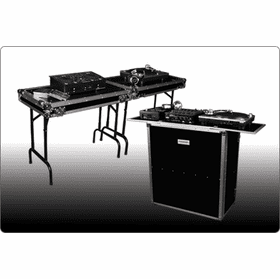 MARATHON ® FLIGHT ROAD CASES ™ FOLDOUT STANDS FOR DJ COFFINS, COMBO CASES & DJ TABLES