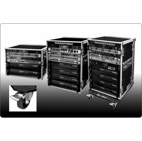 MARATHON ® FLIGHT ROAD CASES ™ FOR DELUXE AMPLIFIER RACK PRODUCTS - 18 INCH BODY DEPTH