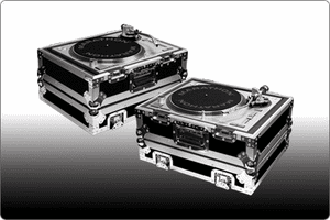 MARATHON ® FLIGHT ROAD CASES ™ FOR DJ TURNTABLES