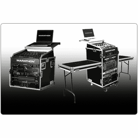 "MARATHON ® FLIGHT ROAD CASES ™ LAPTOP CASES, RACKS & COMBO CASES WITH ""PATENT PENDING DESIGN LAPTOP SHELF"""