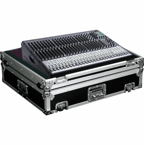 MARATHON ® FLIGHT ROAD CASES ™ MA-ONYX244W CASE FOR MACKIE ONYX 24.4 MIXING CONSOLE OR ANY EQUAL SIZE FORMAT MIXING CONSOLES