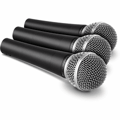 MARATHON ® MA-59PAK3 ™ 3-Pack Dynamic Cardioid Vocal Microphone Kit
