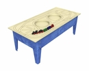 Toddler Activity Table with Route Board, and Train