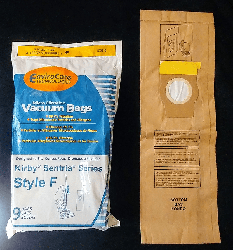 Kirby Universal Collar High Filtration Vacuum Cleaner Bags W