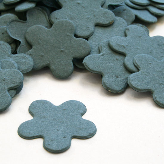 Free Sample of our French Blue Five Petal Confetti