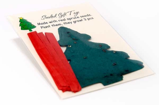 Spruce Tree Gift Tags