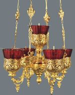 5 Lamps (PANICADILO),  Heavy Gold Plated