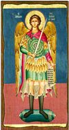 Archangel Michael, Serigraph Orthodox Christian Panel Icon