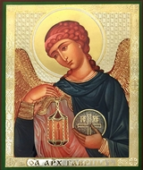 Archangel Gabriel (GAVRIIL), Orthodox Icon