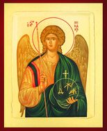 Archangel Michael, Defender of the Faith. Serigraph Icon