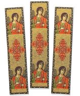 Set of 3 Tapestry Icon Book Markers, Archangel Michael