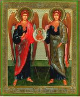Archangels Michael and Gabriel, Orthodox Icon