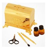 Baptismal Box, Gold Gilded, 5 Items included