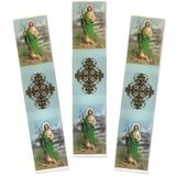 Set of 3 Tapestry Icon Book Markers, Saint Jude