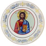 Christ Almighty, Ceramic Hanging Icon Plate