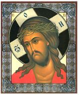 Christ Crowned with Thorns, Orthodox Christian Icon