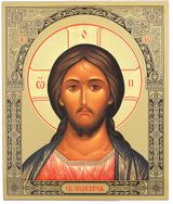 Christ Almighty, Gold Foil Orthodox Icon
