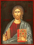Christ Almighty, Orthodox Christian Icon, Made in Greece, G6