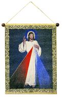The Christ Divine Mercy, Hanging Tapestry Icon Banner