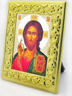 Christ The Teacher Mini Framed Icon with Stand