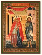 Conception of St. John the Baptist, Orthodox Icon