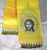 "Gospel  Bookmarker with  Image of Christ  ""Not Made by Hands"","