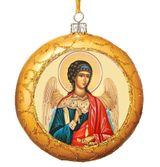 Guardian Angel, Not Breakable Christmas  Ornament, Gold