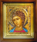 Guardian Angel,  Framed Orthodox Icon with Glass