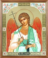 Guardian Angel, Framed  Orthodox Icon with Protective Glass