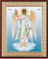 Guardian Angel, Gold & Silver Foil  Orthodox Icon