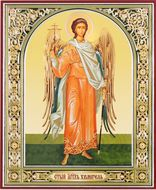 Guardian Angel, Orthodox Christian Gold Foil Icon