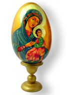 Hand Painted Icon Egg, Assorted