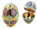Hand Painted Porcelain Egg, Art Collection