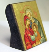 Holy Family Serigraph Mini Icon, Limited Edition