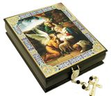The Nativity, Keepsake Rosary Icon Box