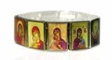 Icon Bracelet Rectangle Shape, Made in Greece