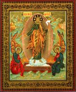 Icon Pascha - Resurrection of Christ, 20th Century Style