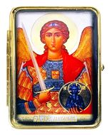 Pill Box with Icon of Archangel Michael