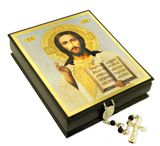 Christ the Teacher, Decoupage Wooden Icon Box