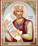 Holy Prophet King David, Orthodox Christian Icon