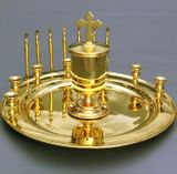 Litya Tray, Gold Plated