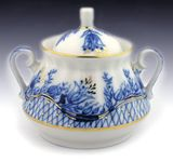 Lomonosov Porcelain 'Tendency' Sugar Bowl