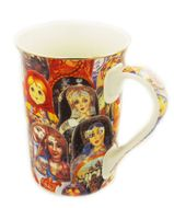 Matreshka  Collage Art Mug, 4""