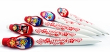 Matreshka Pens, Set of 5 pcs, White
