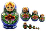 Matrioshka 10 Nested Doll, Hand Painted High Quality
