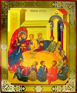 Mystical  (Last) Supper,   Orthodox Icon