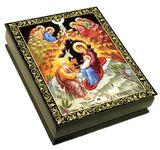 Nativity of Christ, Wooden Icon Box