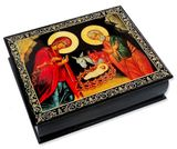 The Nativity Icon Decoupage Box